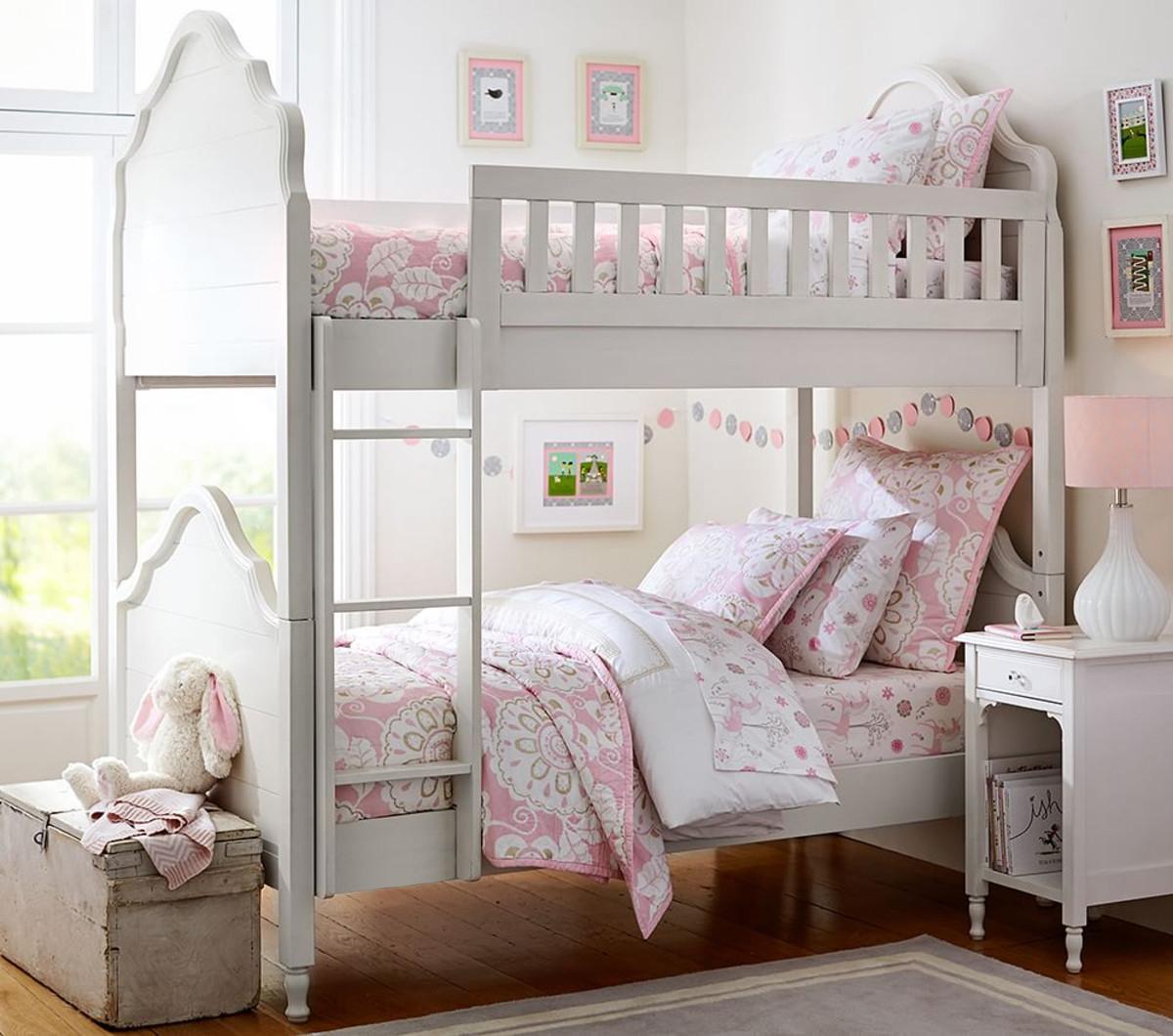 juliette bunk bed pottery barn kids. Black Bedroom Furniture Sets. Home Design Ideas
