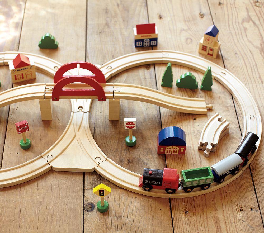 Wooden Train Set Pottery Barn Kids Au