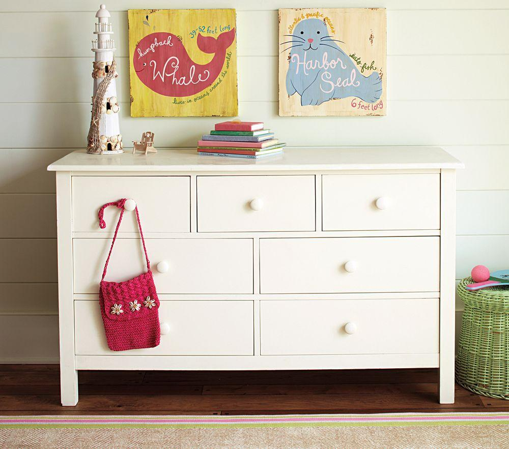 Kendall Extra-Wide Dresser - Simply White