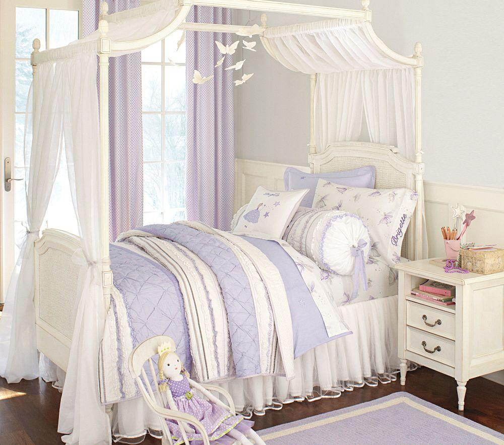 Brigette Ruffle Quilted Bedding Lavender