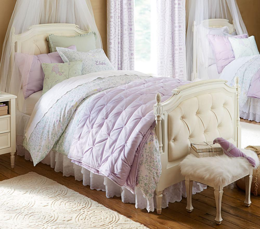 Make A Single Bedroom Special With A Super Stylish: Blythe Tufted Bed