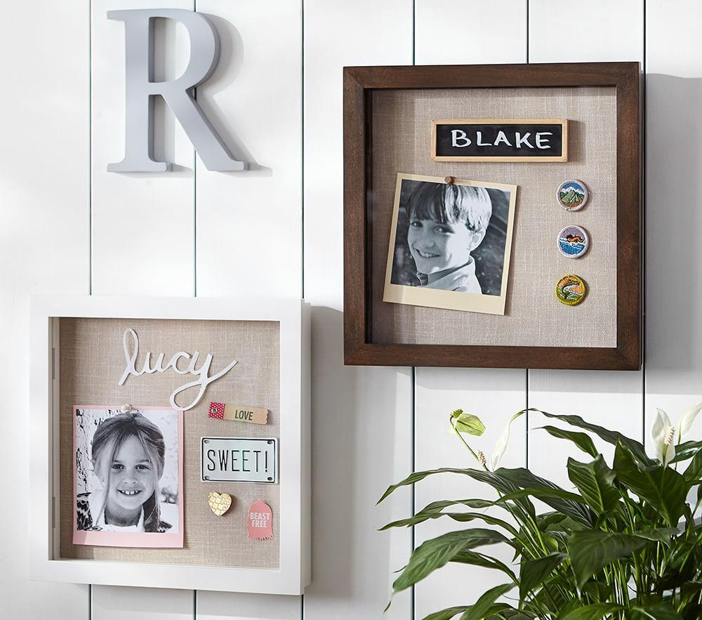 Shadow Box Gallery Frame Pottery Barn Kids