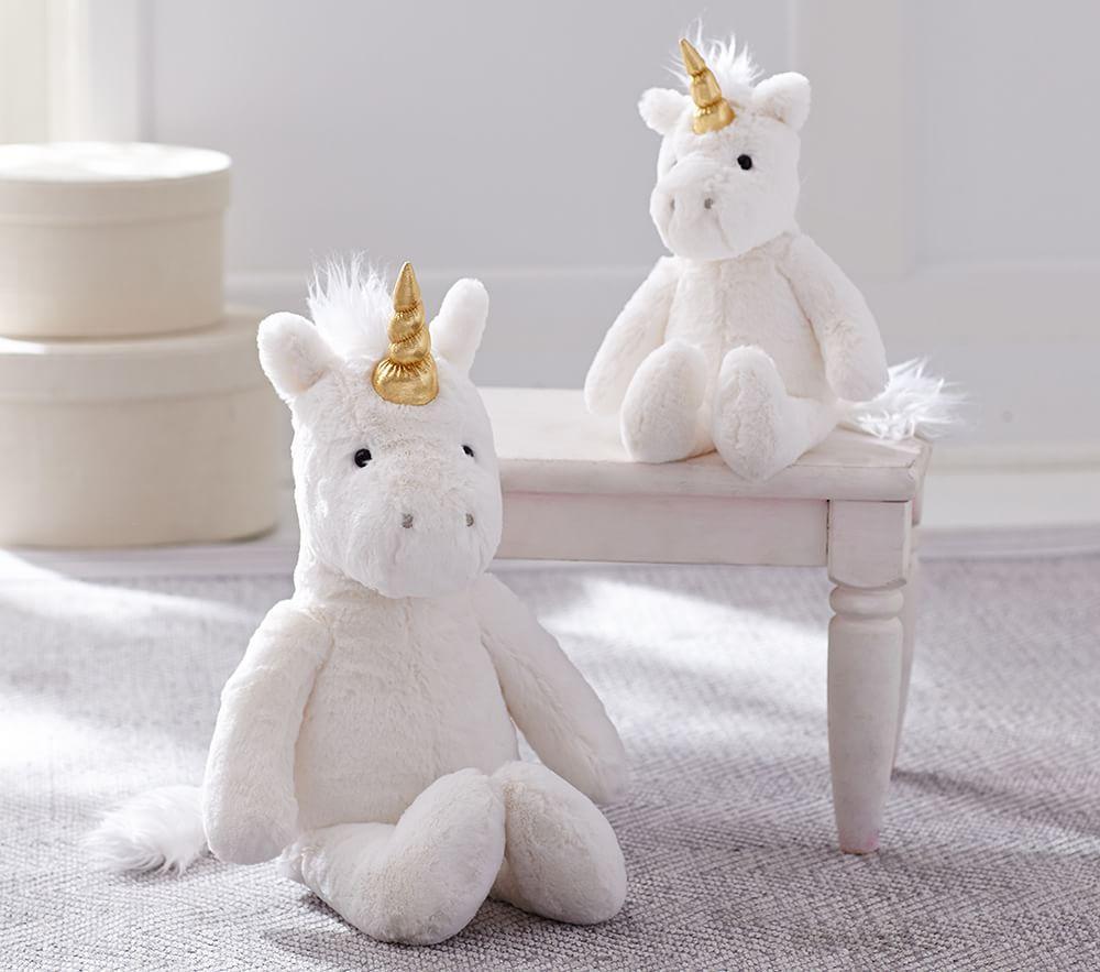Unicorn Faux Fur Plush Collection
