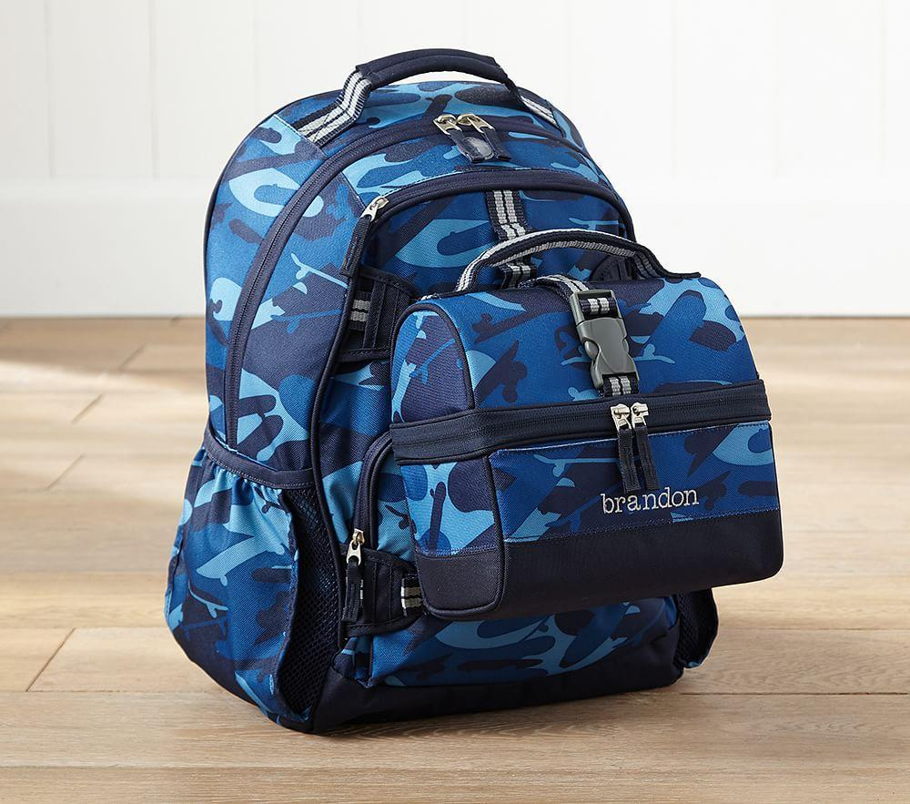 Mackenzie Navy Camo Backpacks Pottery Barn Kids