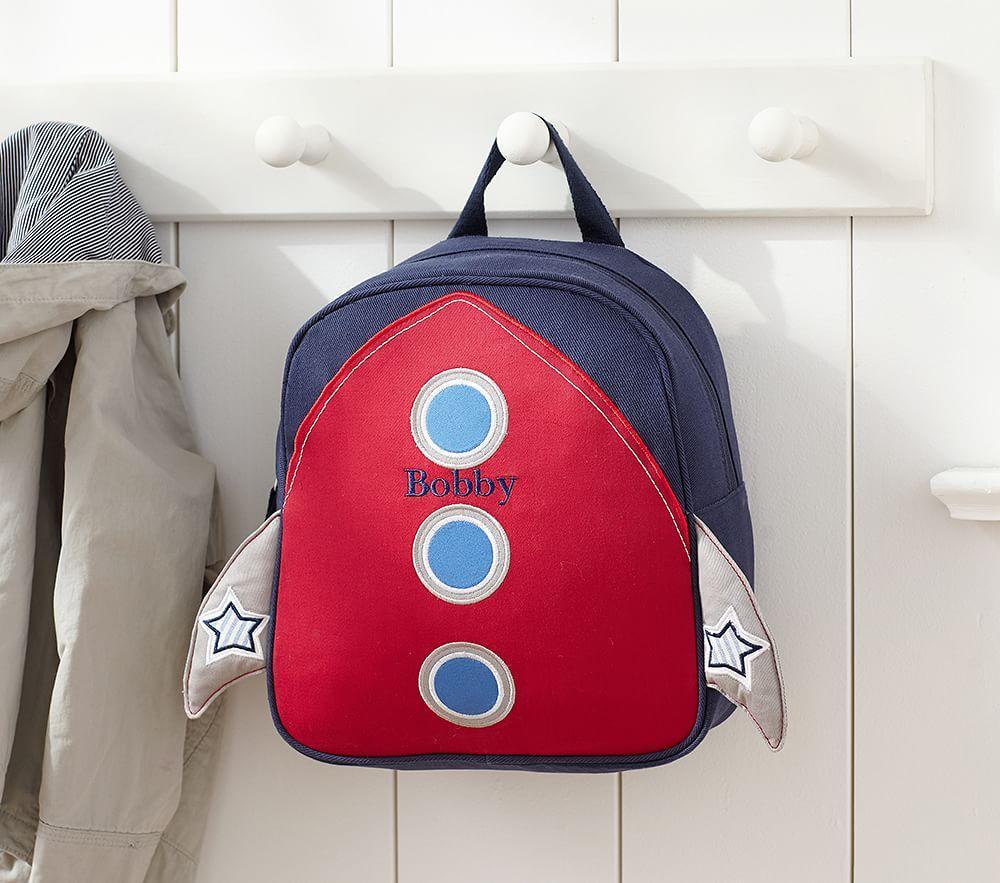 Preschool Rocket Backpack Pottery Barn Kids