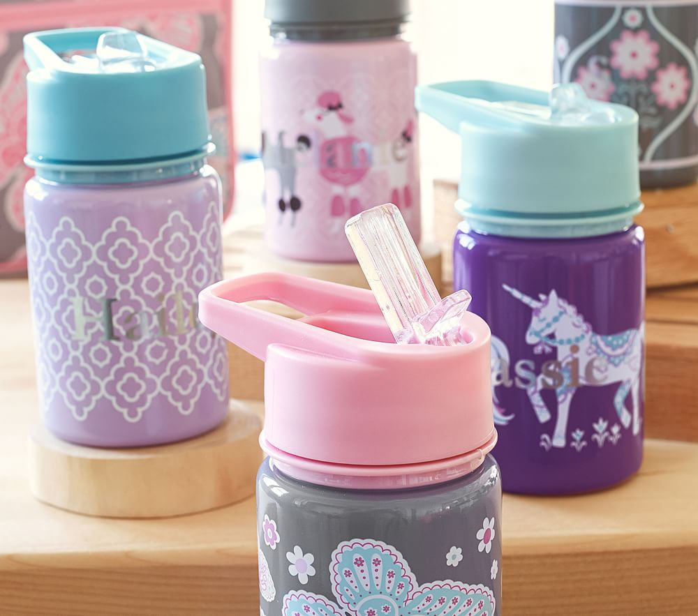 Mackenzie Water Bottles Pottery Barn Kids