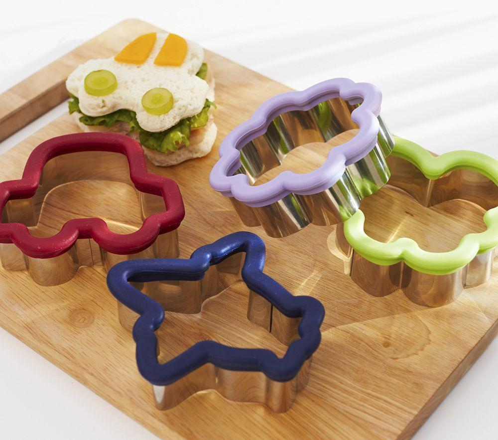 Stainless Sandwich Cutters Pottery Barn Kids