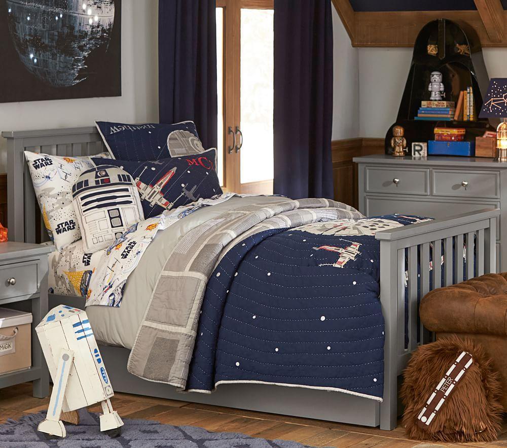 Star Wars™Millennium Falcon™ Comforter | Pottery Barn Kids AU