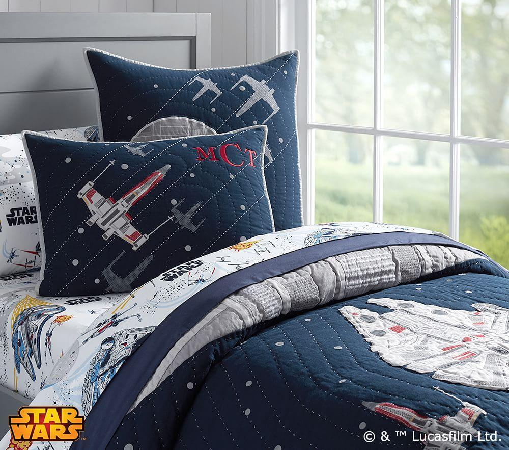 Star Wars Millennium Falcon Comforter Pottery Barn Kids Au