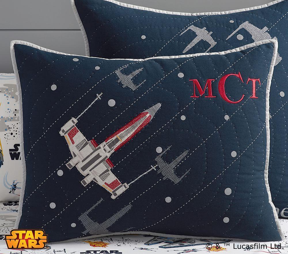 Star Wars Millennium Falcon Comforter Pottery Barn Kids Au