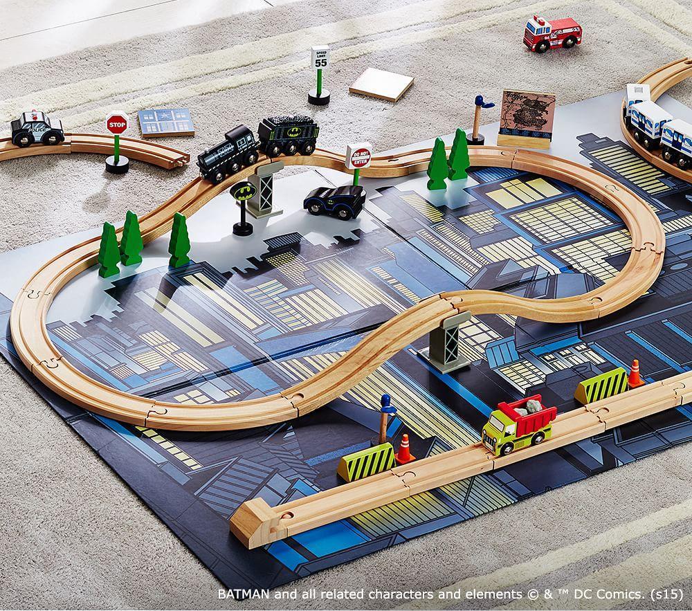 Gotham City Train Set Pottery Barn Kids