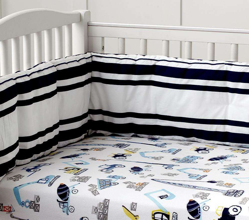 Construction Nursery Bedding Pottery Barn Kids