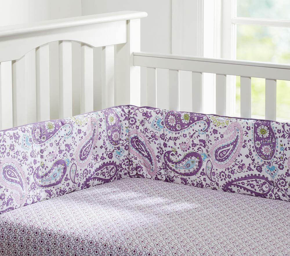Brooklyn nursery bedding lavender pottery barn kids for Brooklyn bedding vs purple
