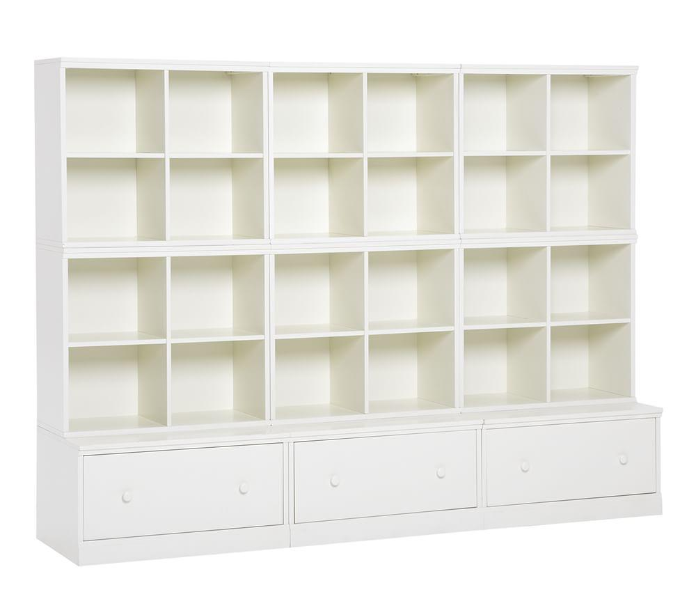Cameron 6 Cubby Amp 3 Drawer Base Storage System Pottery
