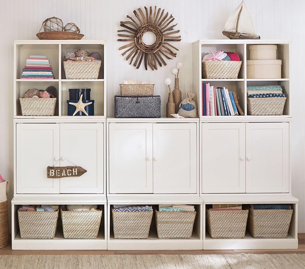 Childrens Kids 3 Tier Toy Bedroom Storage Shelf Unit 8: Cameron Wall Storage System