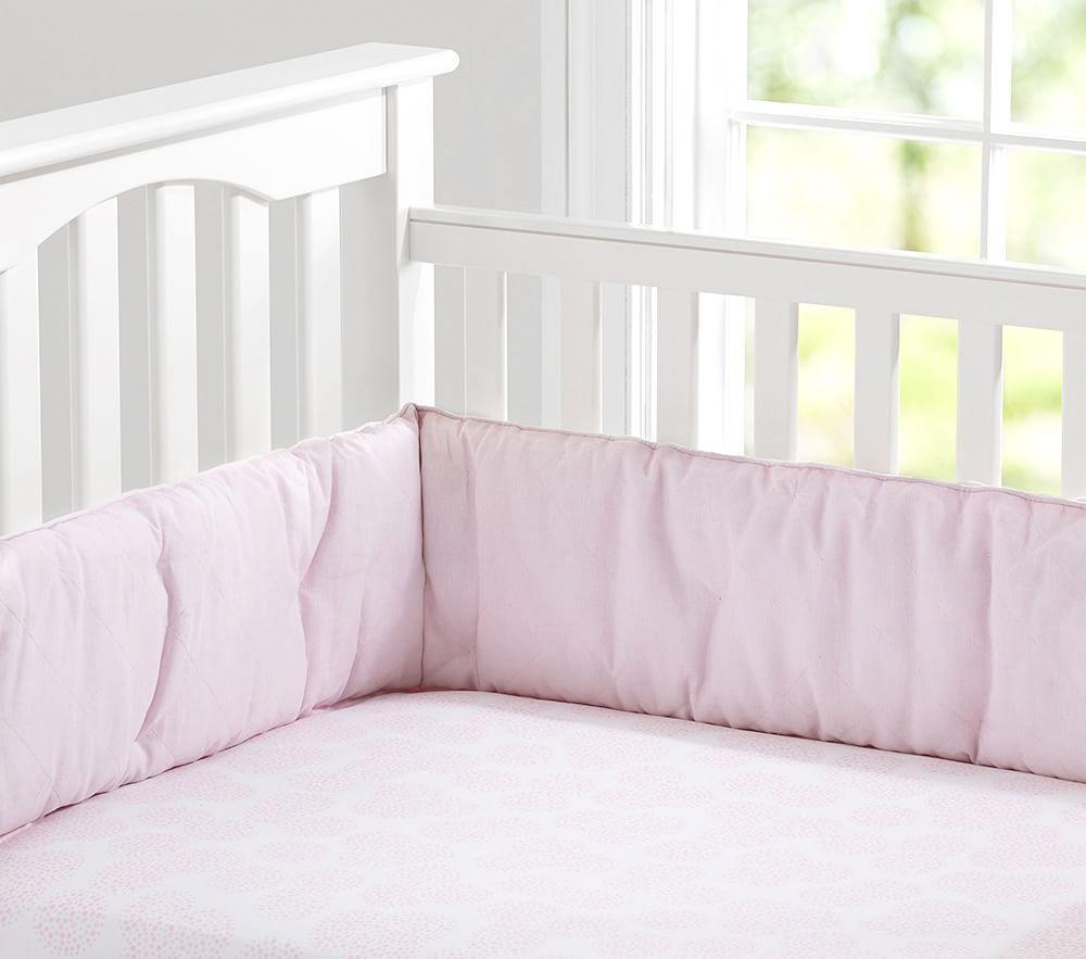 Belgian Linen Nursery Bedding Pink Pottery Barn Kids Au