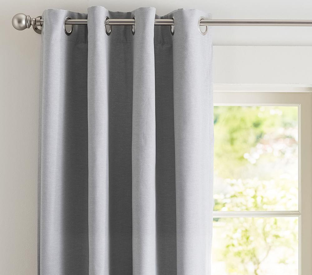 Hayden Blackout Curtain Pottery Barn Kids