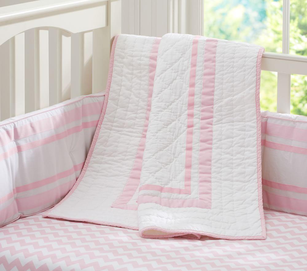 Harper Nursery Bedding Collection - Navy