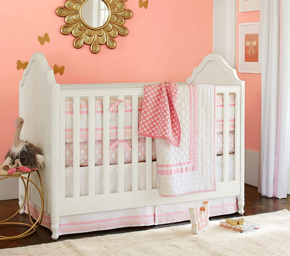 Harper Nursery Bedding Collection Light Pink Pottery