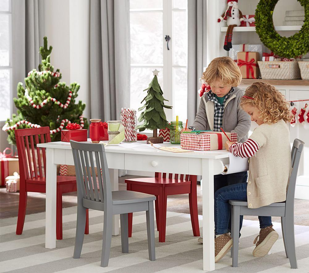 Carolina Craft Play Table Simply White Pottery Barn Kids Au