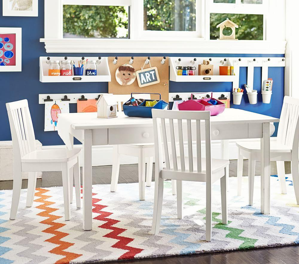 Carolina Craft Play Table, Simply White