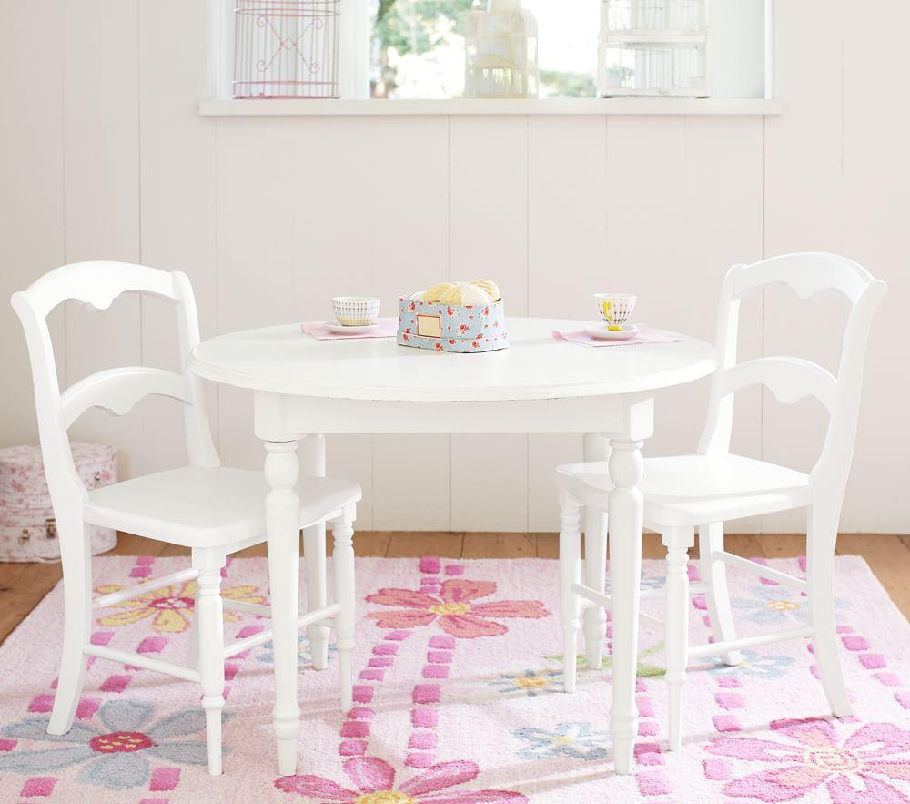 Finley Play Table, French White