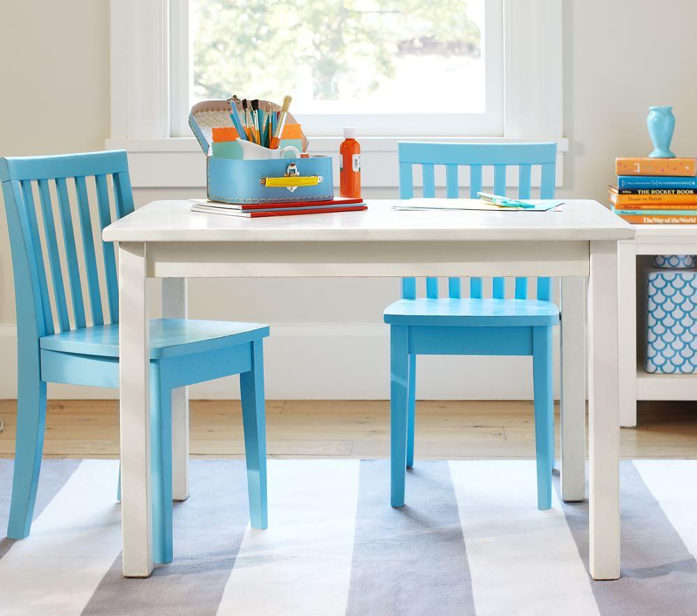 Carolina Small Play Table, Simply White | Pottery Barn Kids