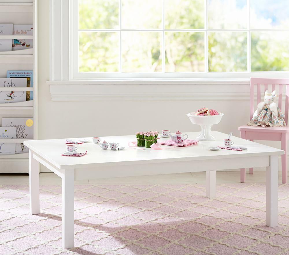 Carolina Large Table Simply White Pottery Barn Kids Au