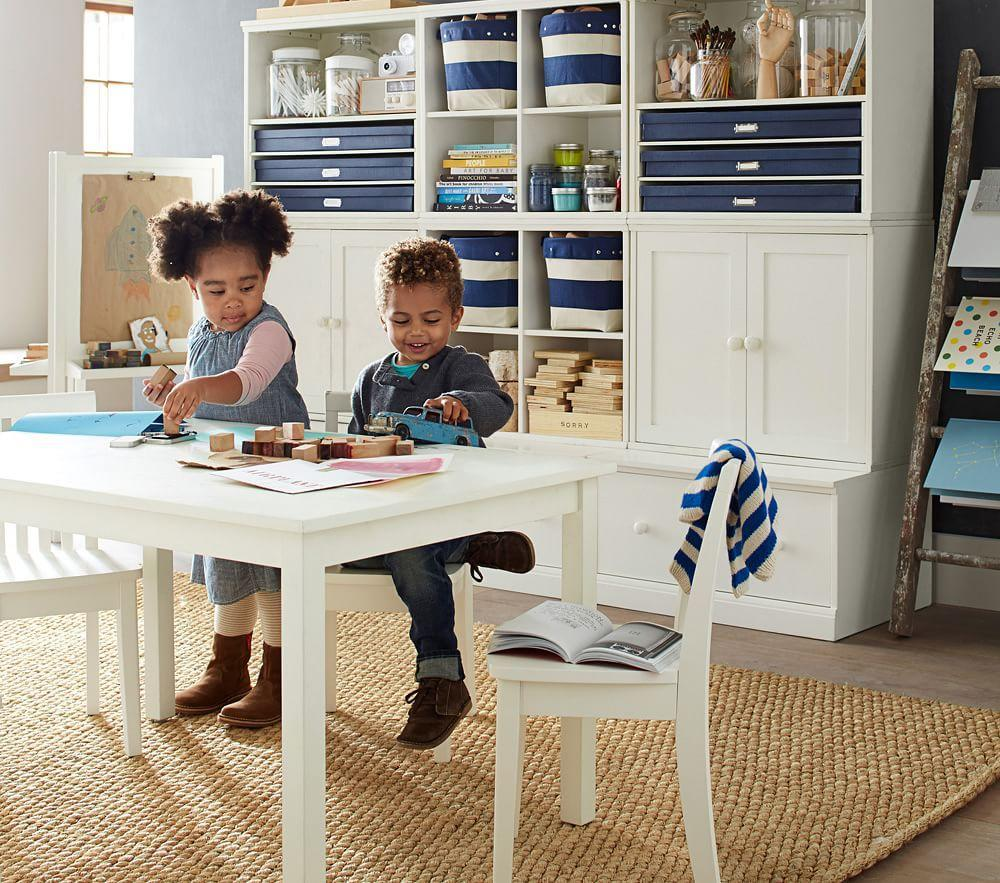 Carolina Large Play Table, Simply White