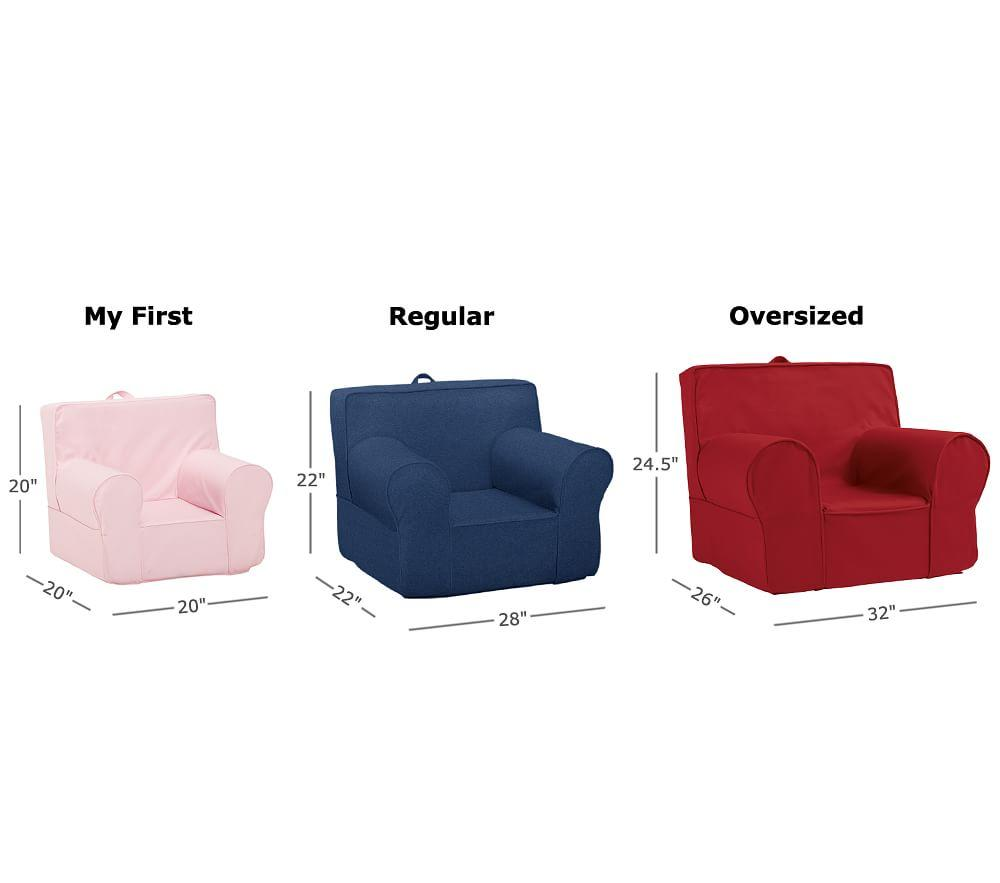 My First Anywhere Chair Pink Mini Dot Pottery Barn Kids