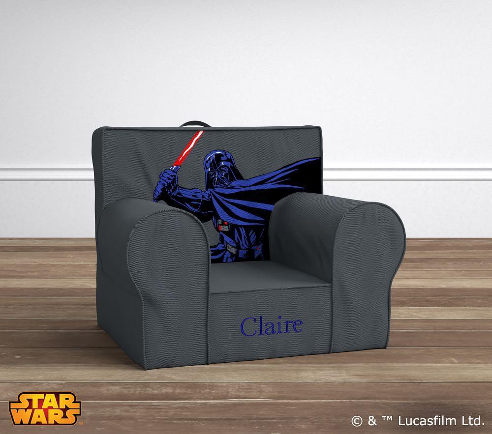 Star Wars Darth Vader Anywhere Chair Pottery Barn Kids