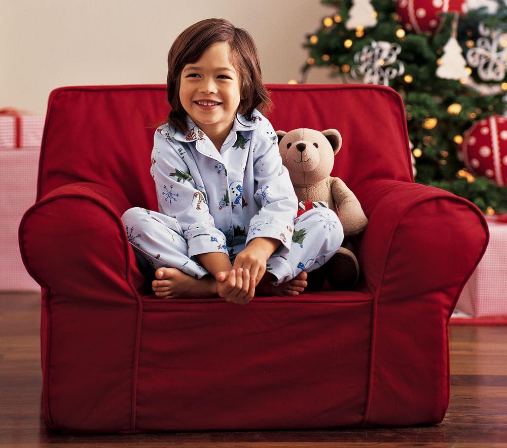 Pottery barn kids my first anywhere chair - Red Anywhere Chair