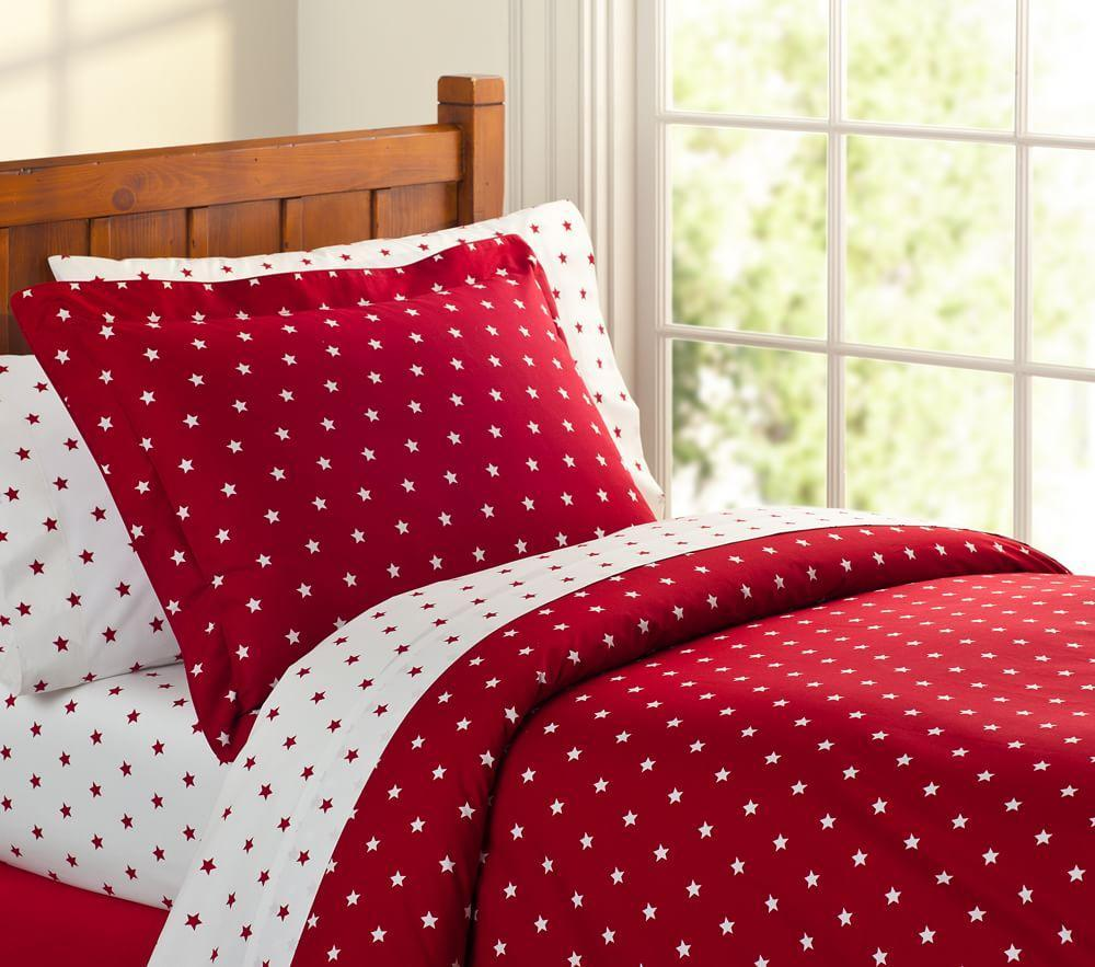 Organic Star Quilt Cover