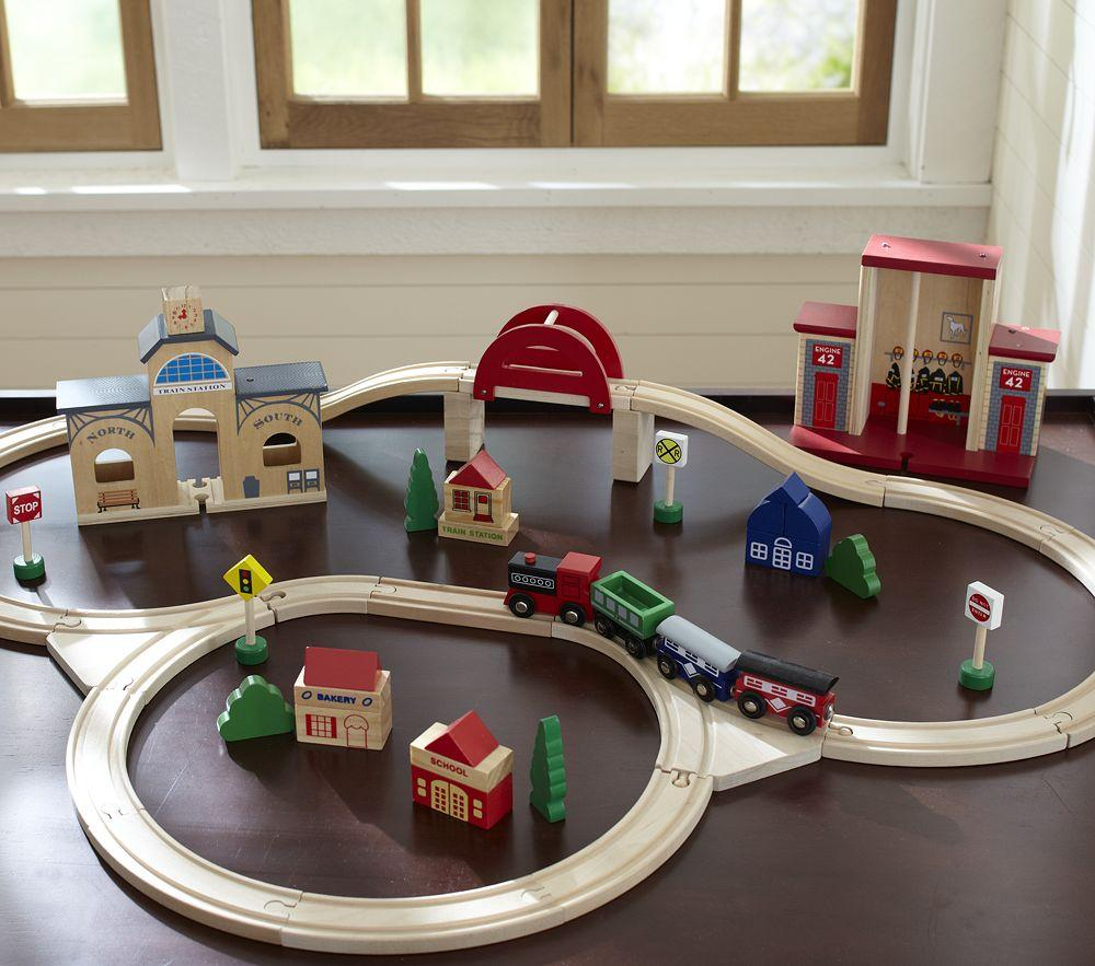 Wooden Train Set Pottery Barn Kids Au