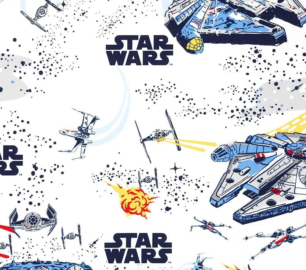 Star Wars Millennium Falcon Sheet Set Pottery Barn Kids Au