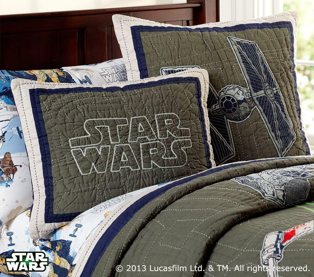 Star Wars X Wing Amp Tie Fighter Quilted Bedding