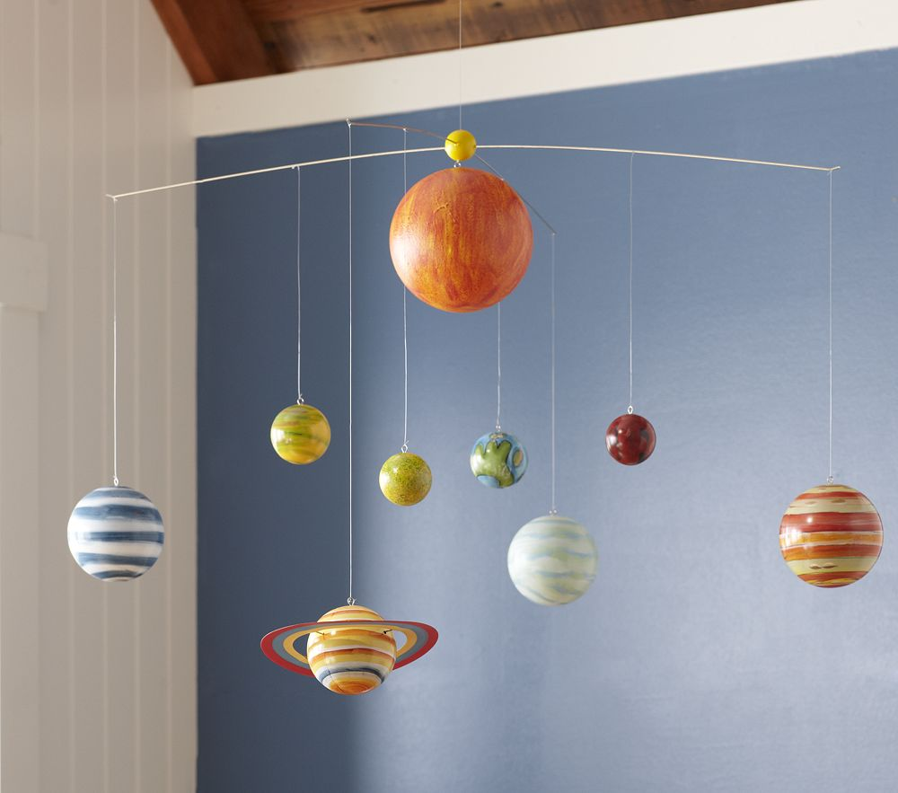 handmade solar system mobile - photo #21