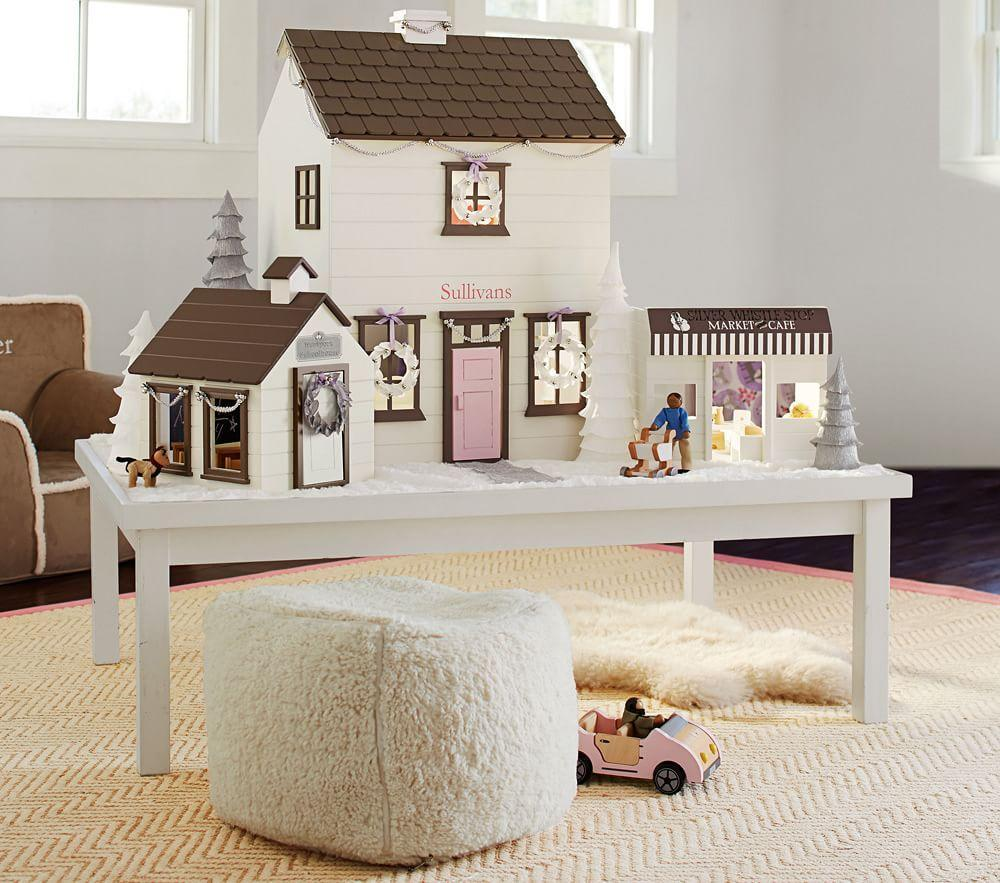 Westport dollhouse white pottery barn kids for Pottery barn kids room ideas