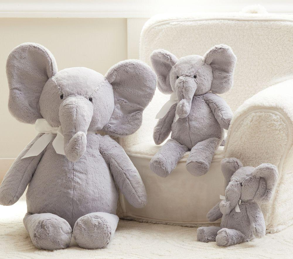 Elephant Plush Collection Pottery Barn Kids Au