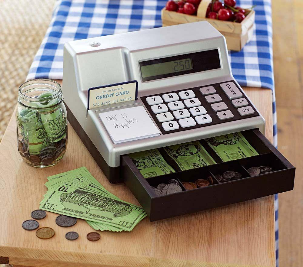 Cash Register Amp Play Money Pottery Barn Kids Au