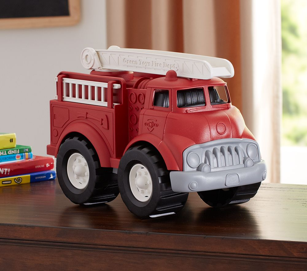 Green Toys Fire Truck Pottery Barn Kids Au