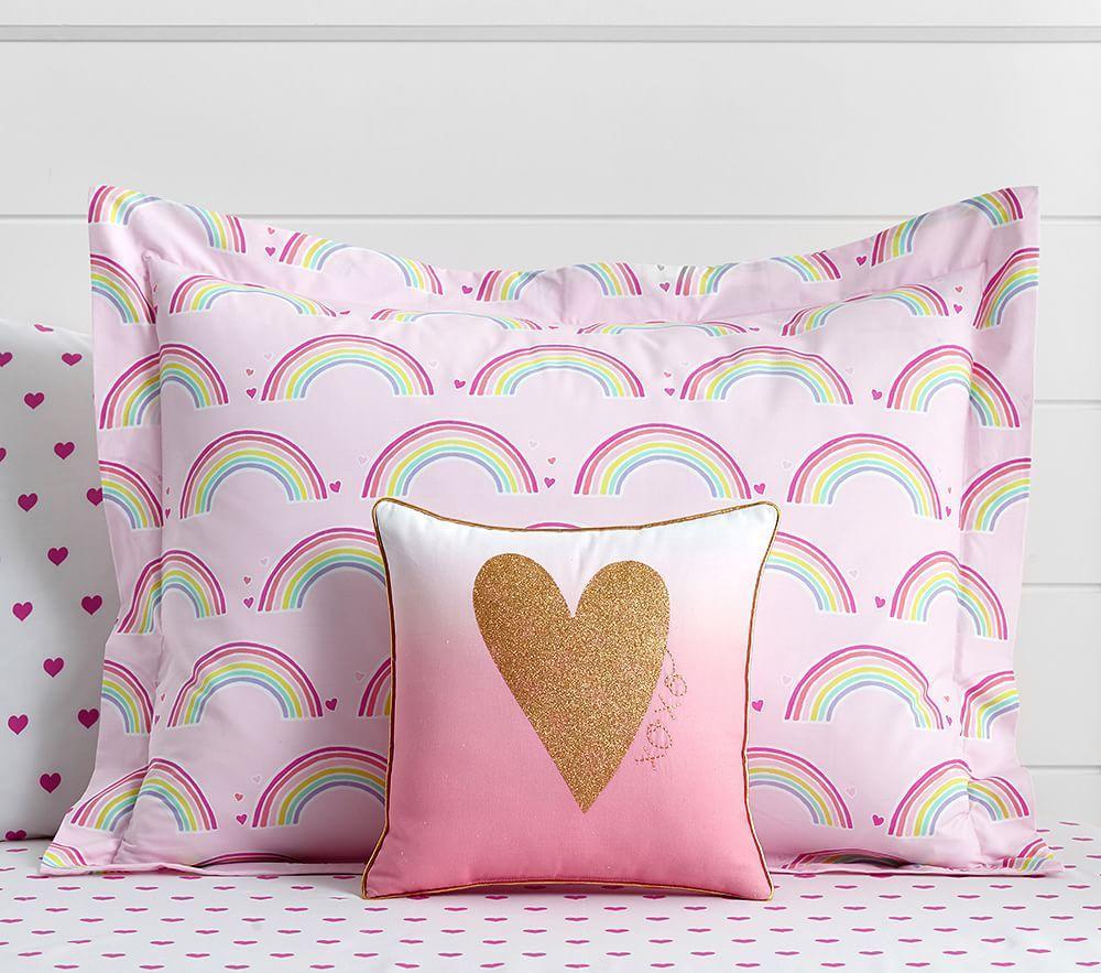Organic Rainbow Quilt Cover