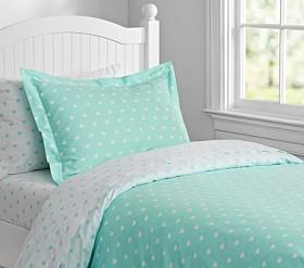 Girls' Quilt Covers | Pottery Barn Kids : aqua quilt - Adamdwight.com