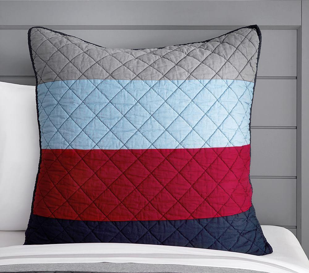 Blocked Stripe Comforter Pottery Barn Kids Au