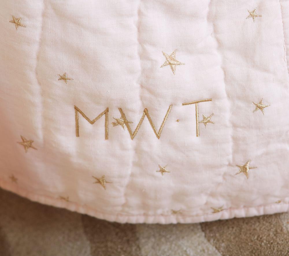 Organic Emily Amp Meritt Stars Nursery Bedding Light Pink