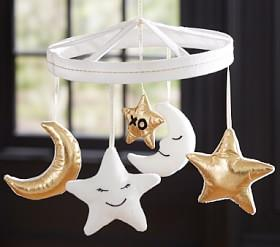 The Emily & Meritt Moon & Stars Mobile
