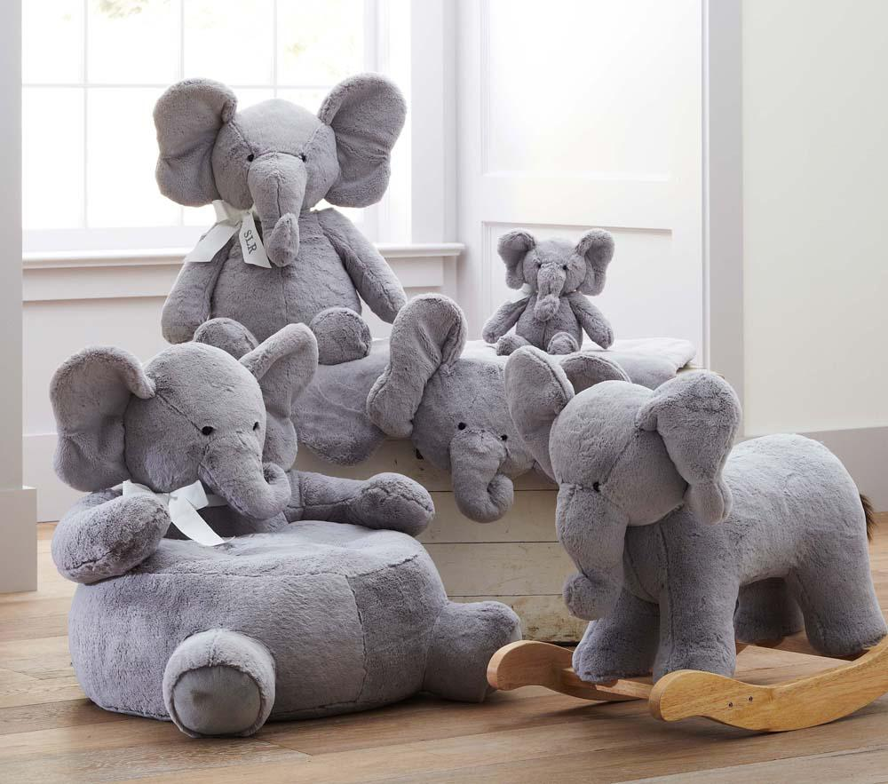 Elephant Plush Rocker Pottery Barn Kids Au