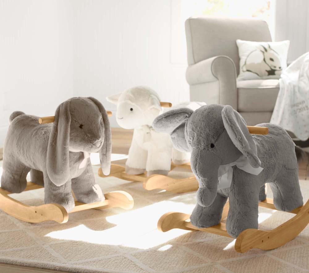 Elephant Plush Rocker Pottery Barn Kids