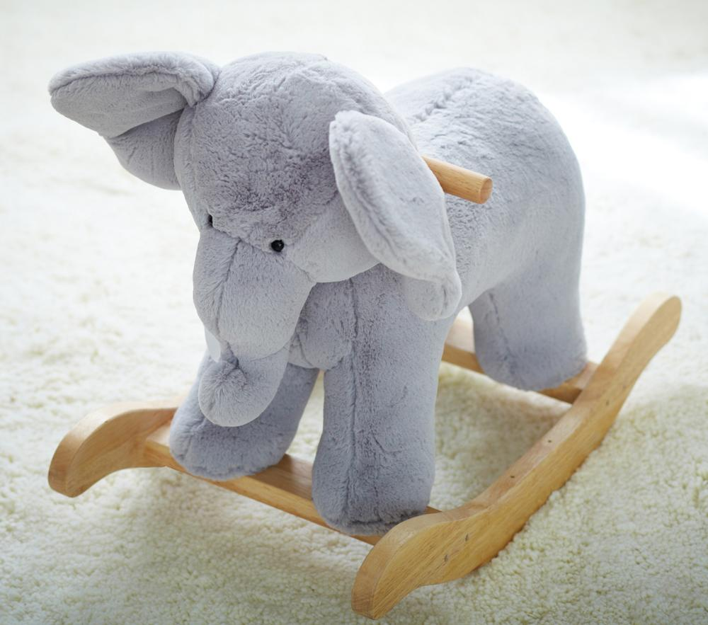 Elephant Plush Rocker Pottery Barn Kids Au
