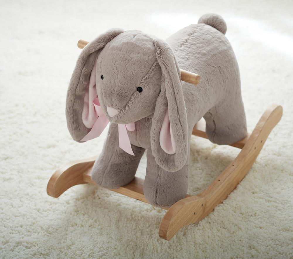 Bunny Plush Rocker
